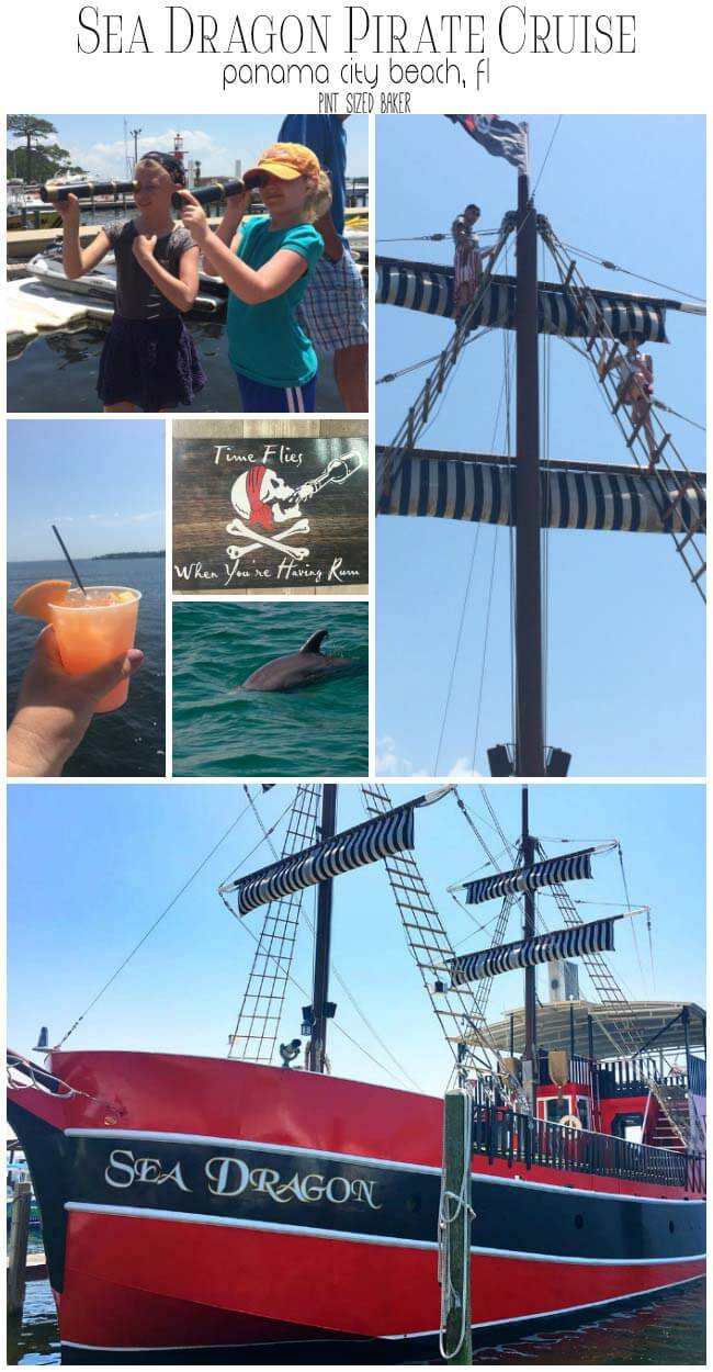 Take the kids on the Sea Dragon - a Pirate Cruise in Panama City Beach, Florida.
