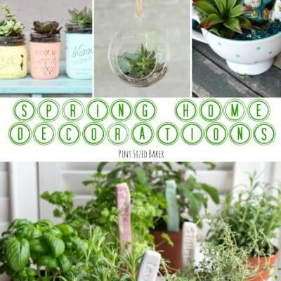 Spring Home Decorations