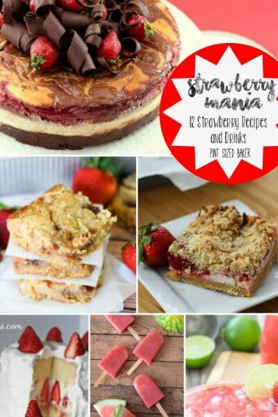 Strawberry Mania – 12 Recipes and drinks