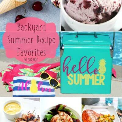 Backyard Summer Recipe Favorites