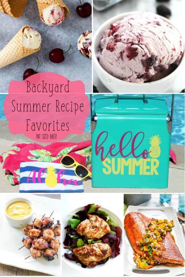 Backyard Summer Recipe Favorites