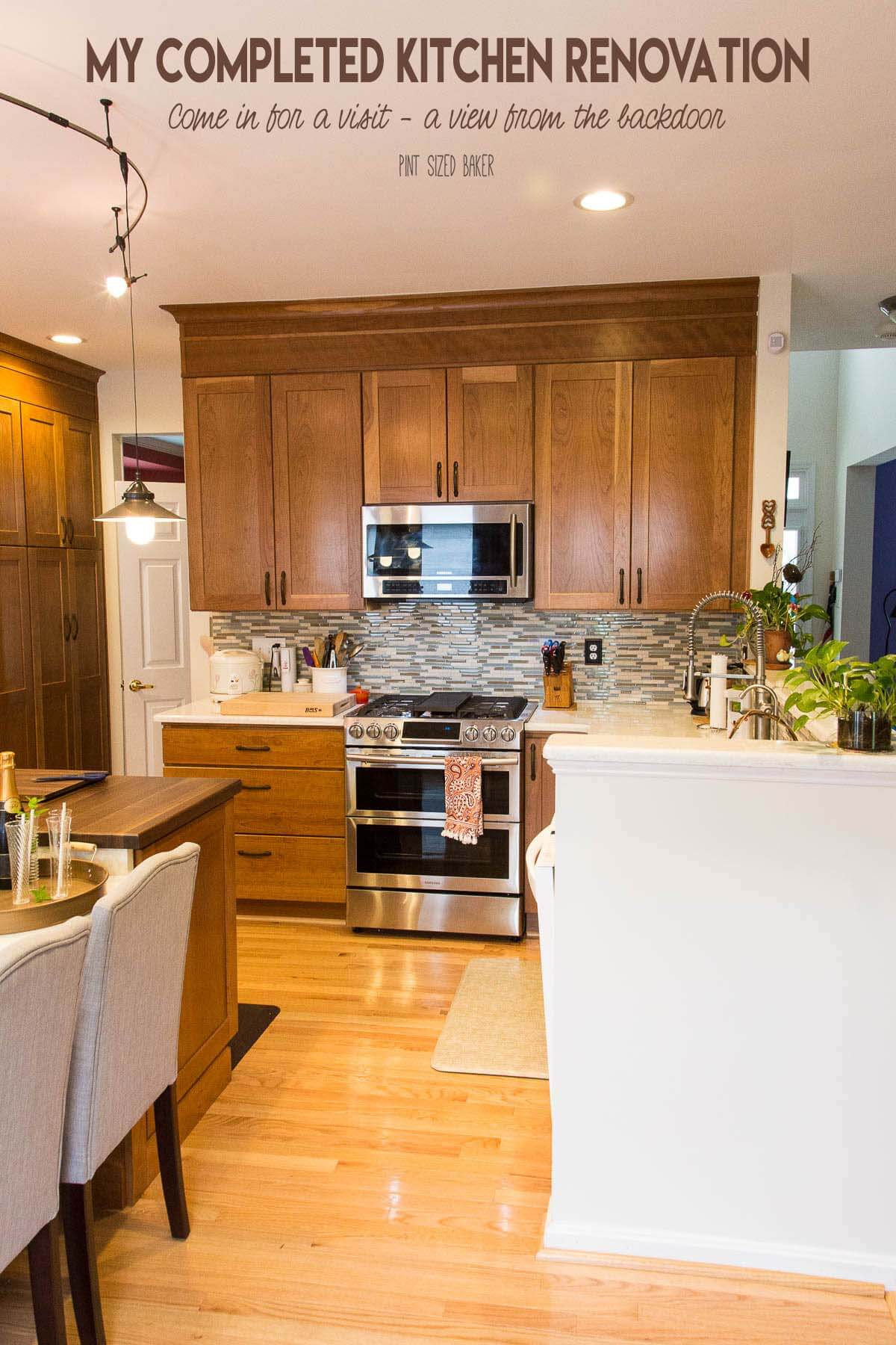 Our Kitchen Renovation has been Completed. We've given our kitchen a face lift and are loving the results. Check out how we've spruced up out kitchen to make it more functional for our family.