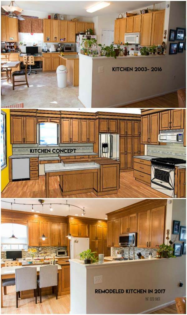 Our Kitchen Renovation is Complete. We've given our kitchen a face lift and are loving the results. Check out how we've spruced up out kitchen to make it more functional for our family.