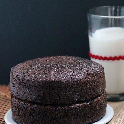 Two Layer Chocolate Cake Recipe