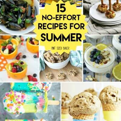 Perfect No-Effort Recipes for Summer