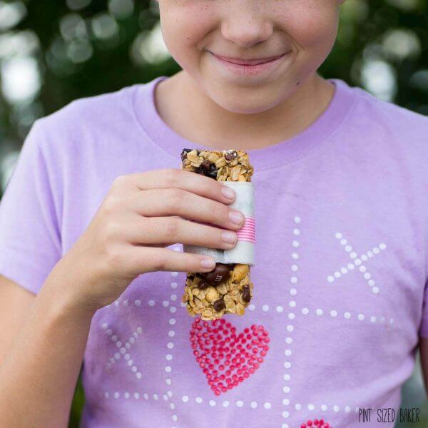 The kids love having homemade granola bars in their lunch boxes!