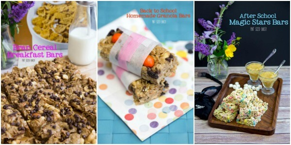 Quick and Easy Cereal Bars for Breakfast, lunch and snack time!