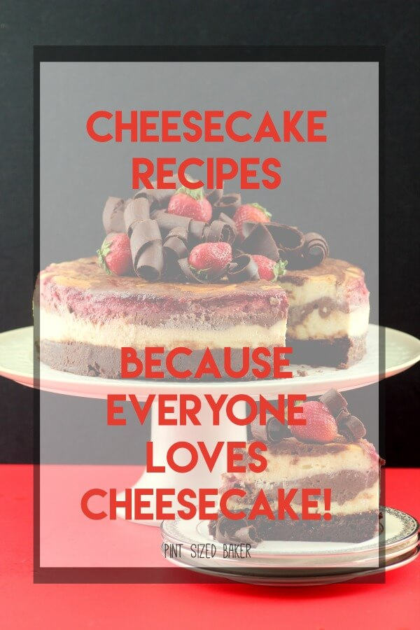A collection of Cheesecake Recipes. No-bake cheesecakes, mini cheesecakes, and full sized cheesecakes and cheesecake dips that are perfect everyday!