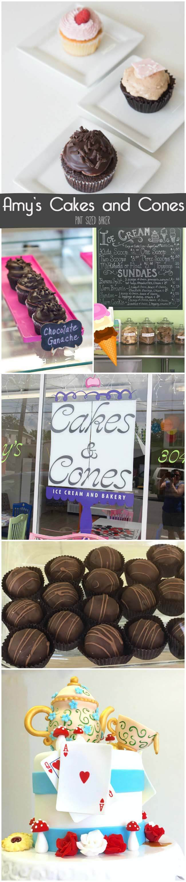When in Greenbrier County, make a pit stop into Amy's Cakes and Cones on Lewisburg, WV.