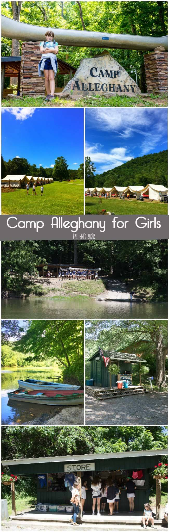 Girls from around the world come to Camp Alleghany to explore the great outdoors. Young ladies ages 8-16 come for 3 week camp and come home full of independence!