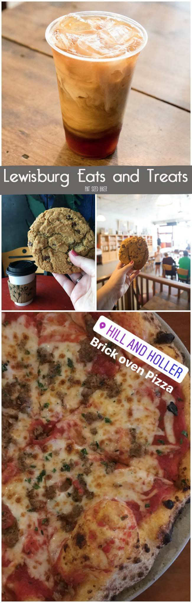 Relax those tired legs with a brick oven pizza and a cold beer. Lewisburg, WV has quite the selection of quaint restaurants and coffee shops.