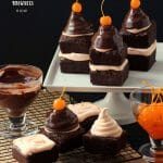 Enjoy these fun High Hat Brownies for a super impressive way to serve brownies!