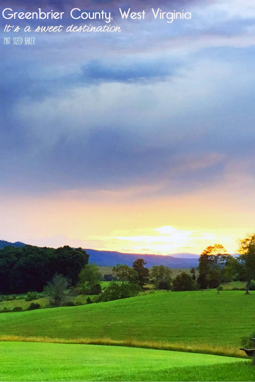 Rich with history, Greenbrier County, WV is the perfect place to get away to for outdoor lovers, adventure seekers and food lovers.