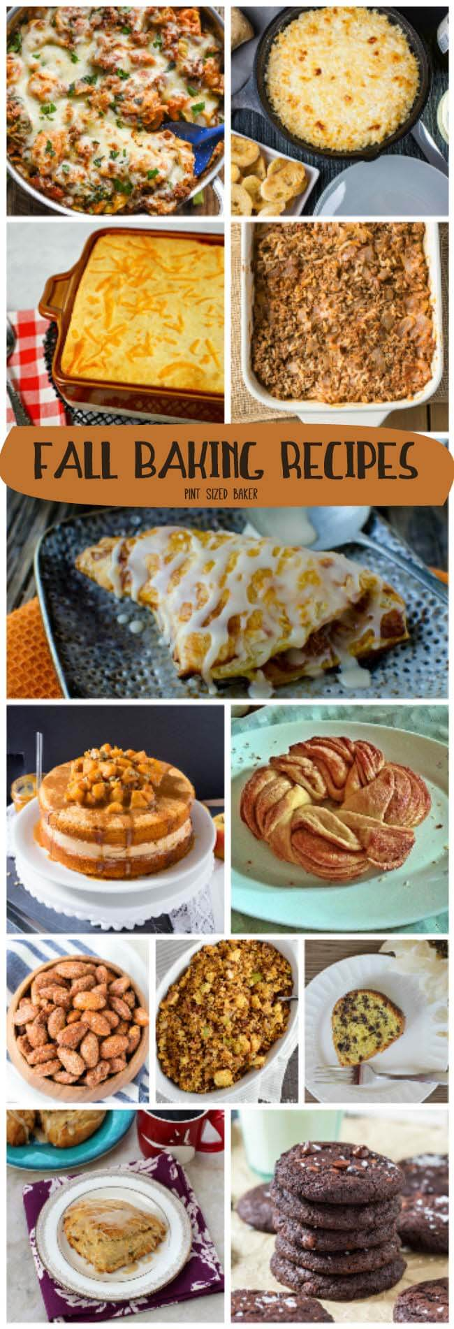 Do the cold, short nights lend themselves to more baking fresh breads, roasted veggies, and casseroles in your household? If so, here's 15 Fall Baking Recipes that are perfect for breakfast, lunch, dinner and dessert!