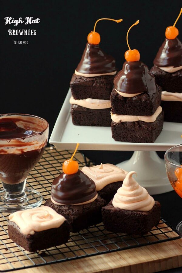 High Hat Brownies