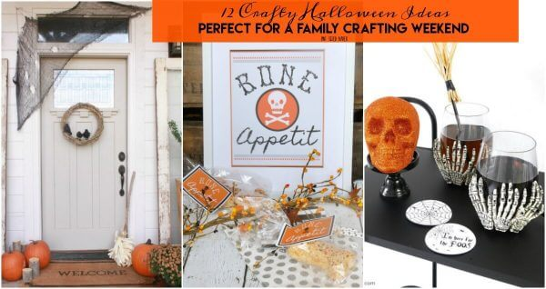 12 Crafty Halloween Ideas to make in no time