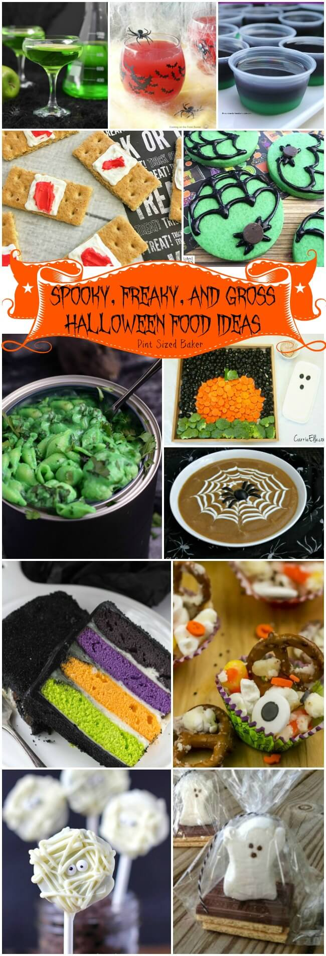 Spooky Freaky And Gross Halloween Food Ideas Pint