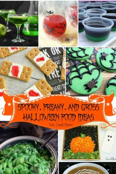 Spooky, Freaky, and Gross Halloween Food Ideas
