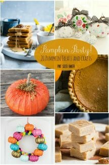 Pumpkin Party! 20 Awesome Pumpkin Eats and Activities