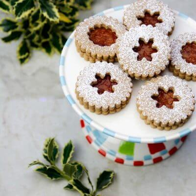 Lower Sugar Linzer Cookie Recipe