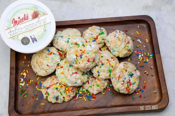 Your kids are going to love making these easy 4-ingredient Mascarpone Crinkle Cookies. You can make and enjoy a different flavor each week!