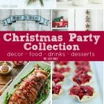 This Christmas Party Collection has it all! Decor, food, drinks, and desserts that are perfect for your Christmas celebrations. It's a one stop shop!This Christmas Party Collection has it all! Decor, food, drinks, and desserts that are perfect for your Christmas celebrations. It's a one stop shop!
