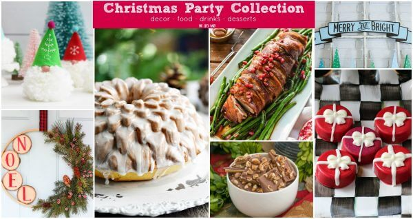 This Christmas Party Collection has it all! Decor, food, drinks, and desserts that are perfect for your Christmas celebrations. It's a one stop shop!