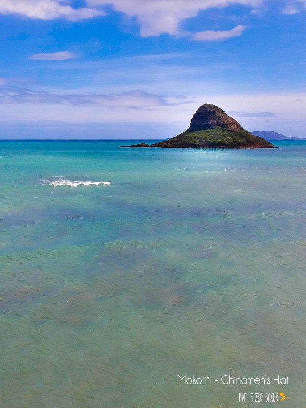 If you're up to it, you can easily take a kayak out to Mokoli'i Island and hike up to the top of Chinaman's Hat. Also, if you're brave enough to send your drone over the water, the island is just 1/3 mile offshore. Droning over Oahu