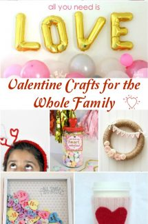 Valentine Crafts for the Whole Family