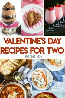 Valentine's Day Recipes for Two – or more
