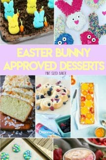 Easter Bunny Approved Desserts