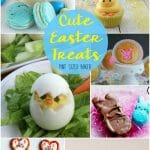 To get you inspired for Spring, warm weather, and Easter, here's a HUGE collection Treats and Crafts so you can Celebrate Easter at home with your family. Enjoy!