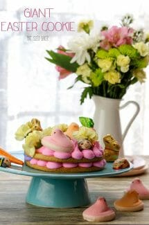 Giant Easter Cookie – #EasterSweetsWeek