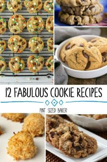 12 Fabulous Cookie Recipes