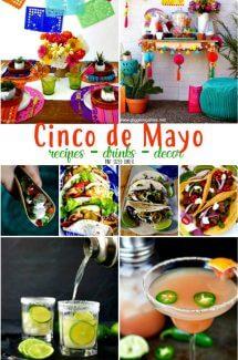 Cinco de Mayo – recipes, drinks, decor