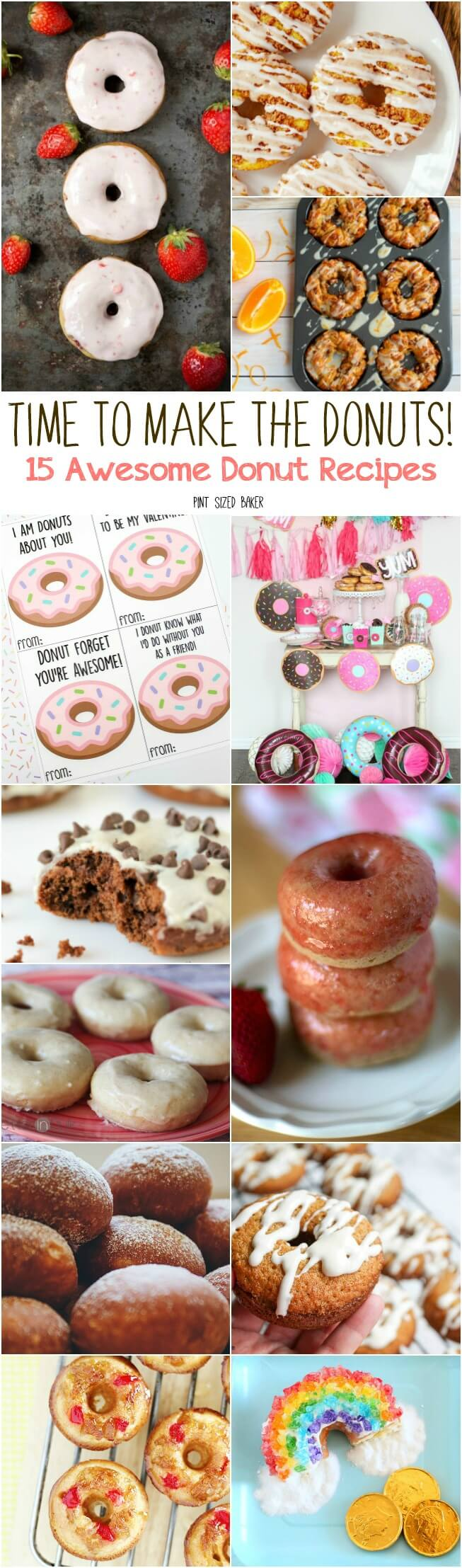 rise and shine - It's Time to Make the Donuts! Everyone loves stopping by the doughnut shop for a sweet treat, but here's 15 great donut recipes you can make at home with the family.