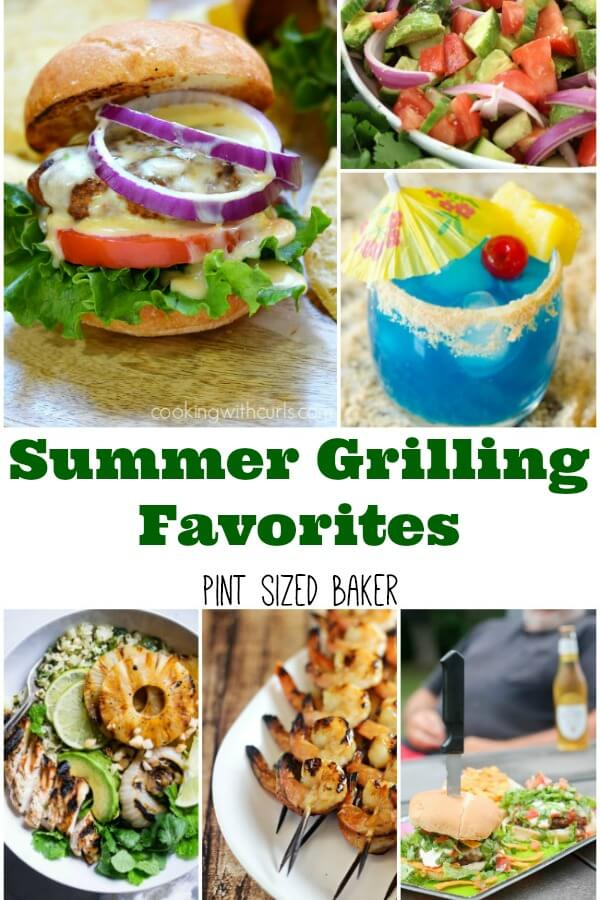 Light up the grill, sit back and relax because these summer grilling favorites - burgers, salads, drinks - are perfect for your weekend BBQ!