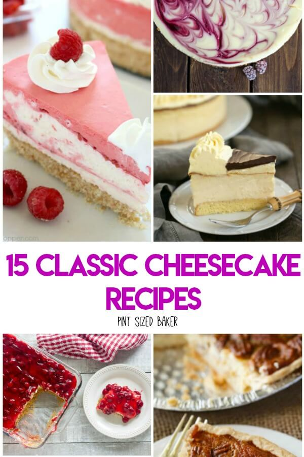 Here's 15 Classic Cheesecake Recipes to get you inspired to get into the kitchen and make your family a dessert they all love. Here's 15 Classic Cheesecake Recipes to get you inspired to get into the kitchen and make your family a dessert they all love.