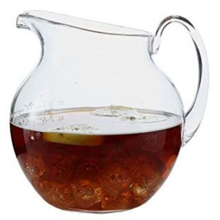 Shatterproof Plastic Pitcher Large Capacity 110 Ounce - Clear
