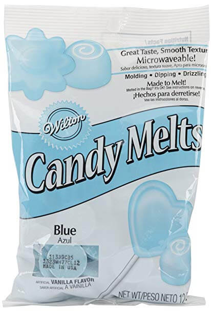 Wilton Blue Candy Melts Candy, 12 oz.