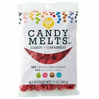 Wilton Red Candy Melts, 12 oz.