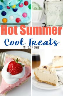 Hot Summer – Cool Treats