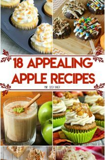 It's just the best afternoon snack! YUM! Don't be basic with your PSL, bake up some of these 18 Appealing Apple Recipes that are sure to get you into the Autumn mood.