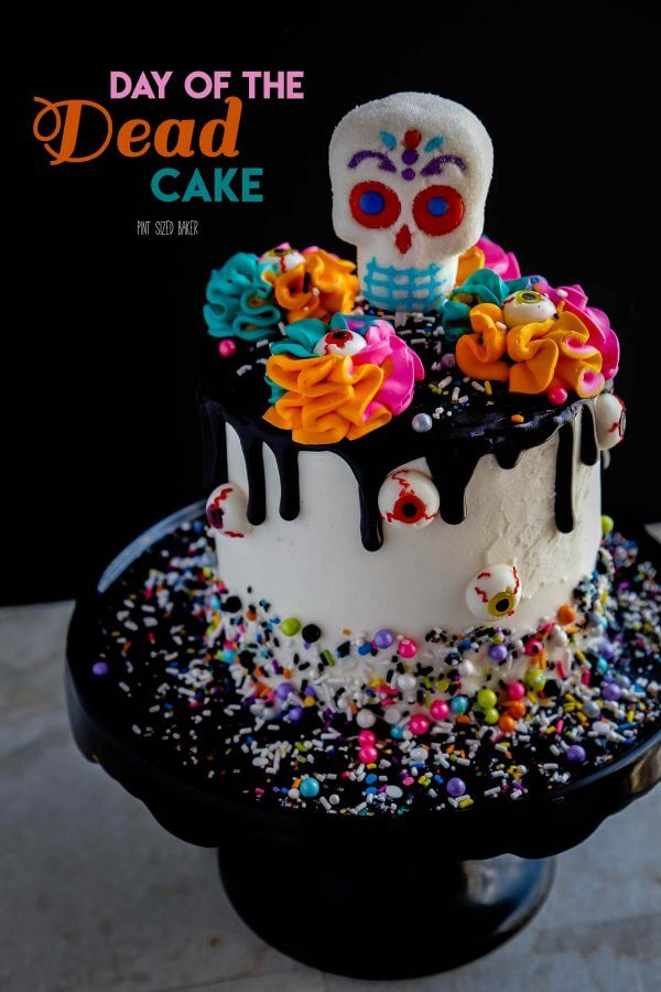 Day Of The Dead Cake Pint Sized Baker