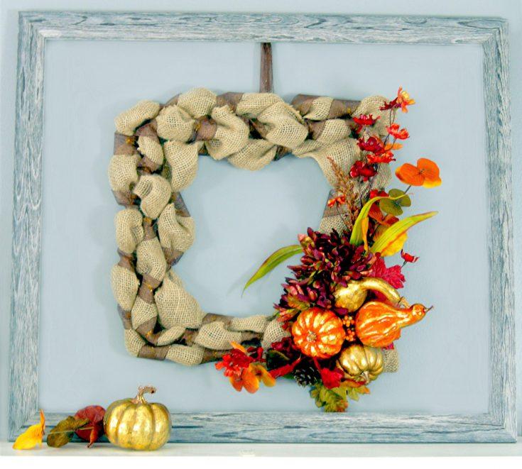 Fall Harvest Wreath & Centerpiece - The Scrap Shoppe