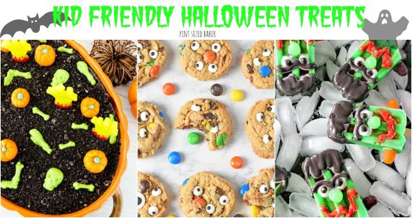 Get those kids into the kitchen for some edible craft time with these fantastic Kid Friendly Halloween Treats that the kids can make for YOU!