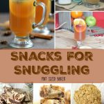 12 perfect snacks for snuggling. Get comfy while the parents enjoy an after dinner drink and the kids nosh on dessert while catching on your favorite shows.
