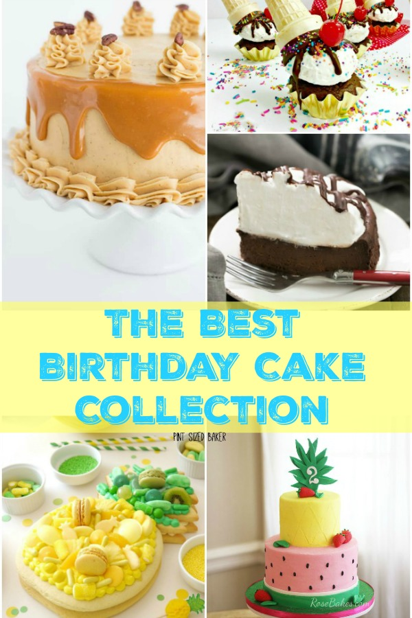 Brilliant The Best Birthday Cake Collection Pint Sized Baker Funny Birthday Cards Online Aeocydamsfinfo