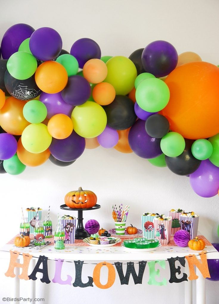 A Hotel Transylvania Halloween Movie Party with Free Printables