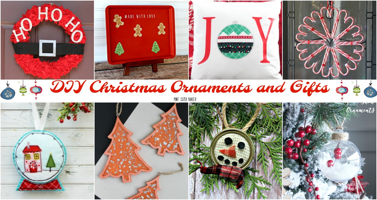 Diy Christmas Ornaments As Gifts.16 Diy Christmas Ornaments And Gifts Pint Sized Baker